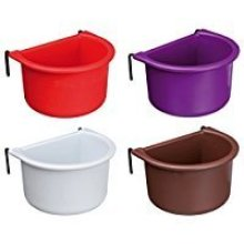 Trixie Hanging Bowl With Wire Holder, 150 Ml/8 × 6cm - Holder Bird Food Water -  bowl wire holder trixie hanging bird food water 5465 colours cm cage