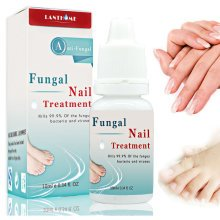 LANTHOME 10ml Onychomycosis Nails Treatment Curing Nail Foot Whitening Fungus Removal Toe Fungal