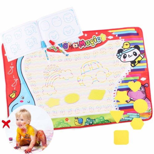 deAO Toys Childrens Aqua Magic Doodle Mat with Water pens