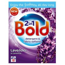 Bold 2-in-1 Lavender & Camomile Cleaning Detergent & Fabric Softener - 10 Washes