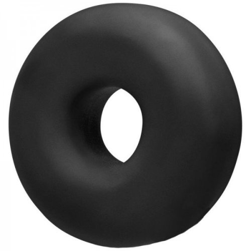 OxBalls Big Ox Super Mega Stretch Silicone Cock Ring Black