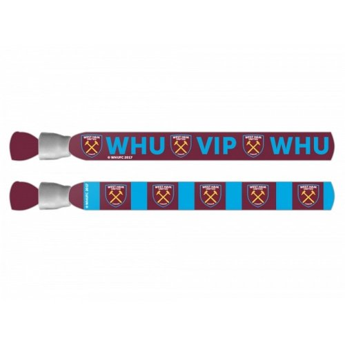 West Ham United FC Festival Wristbands Pack Of 2