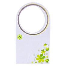 Battery Fan USB Fan Mini Fan Bladeless Fan Portable Electric Fan Soft Wind Green