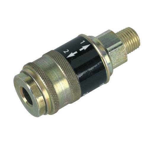 """Sealey AC56 Safety Coupling Body Male 1/4""""BSPT"""