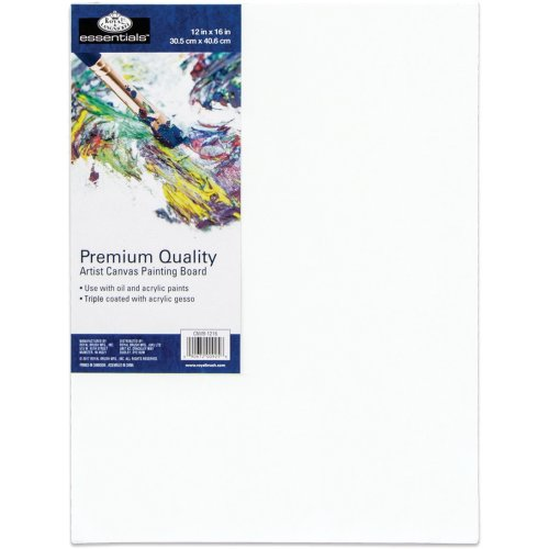 "essentials(TM) Premium Canvas Board-12""X16"""