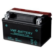 VMF Powersport Liquifix Battery 12 V 6 Ah MF YTX7A-BS