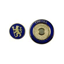Chelsea Golf Ball Duo Marker - Fc Foot New -  duo ball marker chelsea fc golf football new