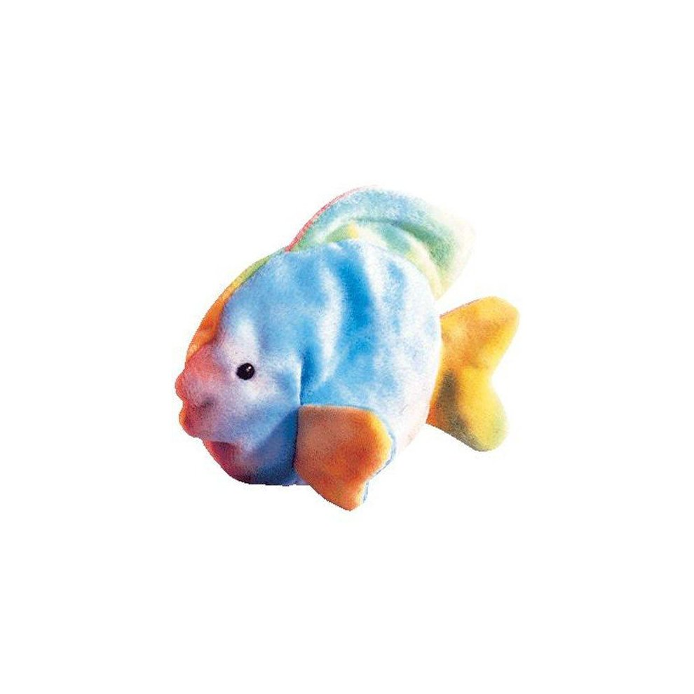 837cdc69bd2 TY Beanie Baby - CORAL the Ty-dyed Fish (4th Gen hang tag) on OnBuy