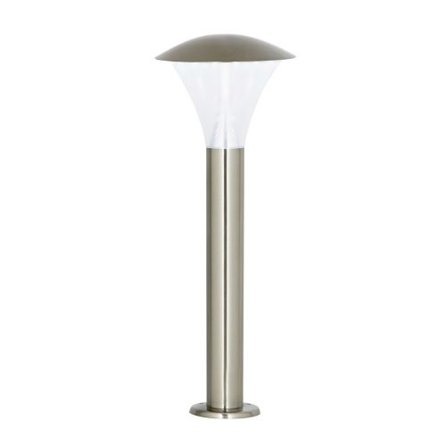 Modern LED Stainless Steel Small Pillar Post Lamp