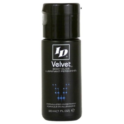 ID Velvet Silicone Based Lubricant Clear & Odourless In 30 ml Bottle