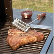 Steak Meat Barbecue Branding Iron with 55 Letters