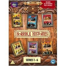 Horrible Histories Series 1-6 Box Set