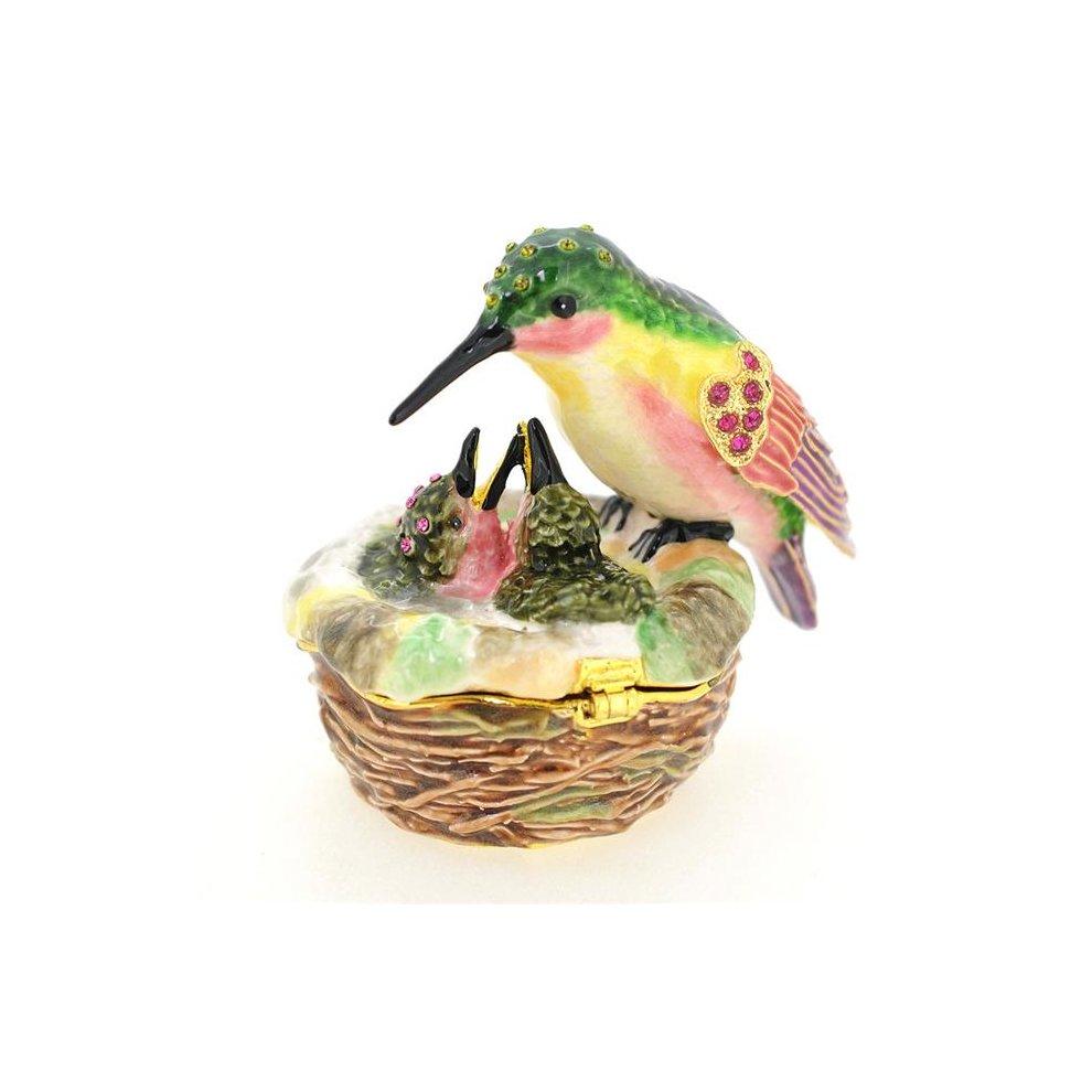 Fantasyard Baby Hummingbird amp Mom Trinket Box  Silver  3 x 25 in - fc52a03a83240c8 , Fantasyard-Baby-Hummingbird-amp-Mom-Trinket-Box-Silver-3-x-25-in-13495718 , Fantasyard Baby Hummingbird amp Mom Trinket Box  Silver  3 x 25 in , Array , 13495718 , Jewellery & Watches , OPC-PSP2Y9-NEW