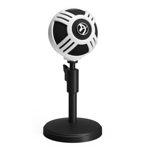 Arozzi Sfera Table microphone Wired Black, White