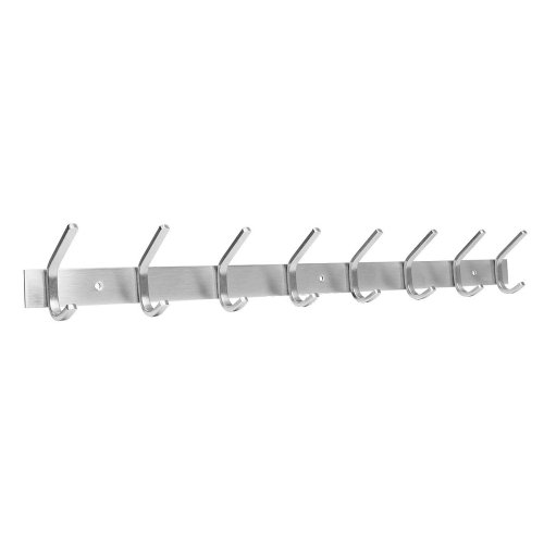 Cusfull Heavy Duty Coat Hook Rack Wall Mount 304 Stainless Steel Clothes, Bags and Hat Holder