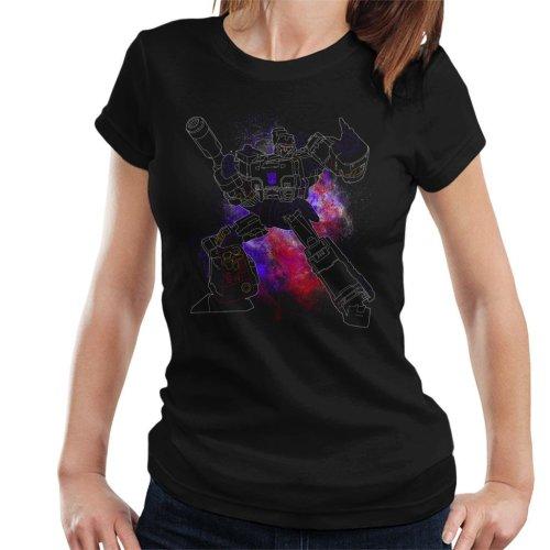 Megatron Spray Transformers Women's T-Shirt