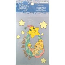 "Colorbok Precious Moments Iron On Transfer ""A Star Is Born""."