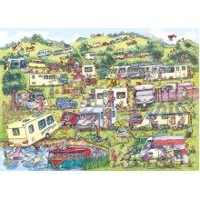 Gibsons the Caravan Site Jigsaw Puzzle (1000 Pieces)