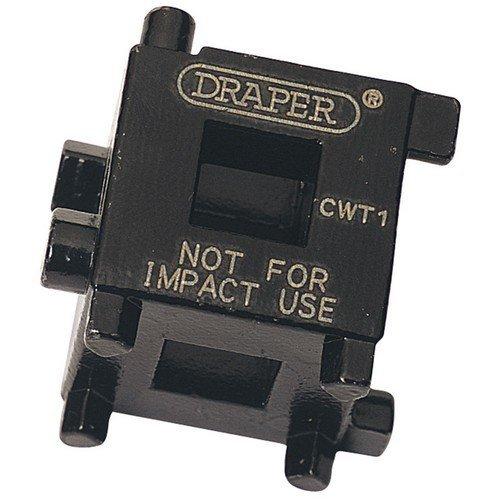 "Draper 52334 3/8"" Square Drive Brake Caliper Wind Back Cube"