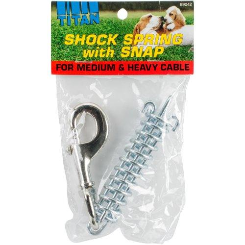 Titan Dog Shock Spring W/Snap-