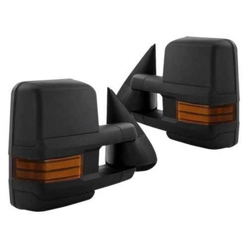 Spyder S2Z-9936685 Driver & Passenger Side Heated Power Towing Mirrors for 2003-2006 Chevy Silverado