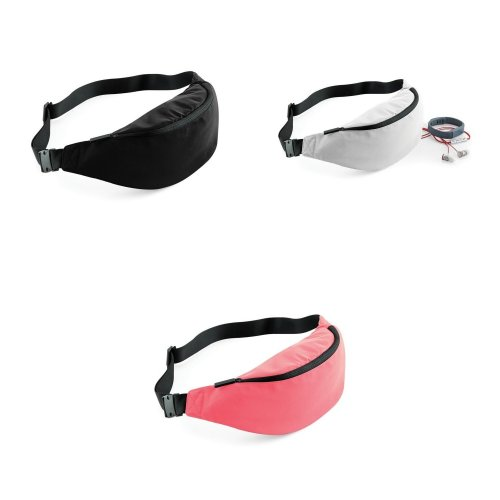 Bagbase Studio Adjustable Waistpack Bag (Pack of 2)