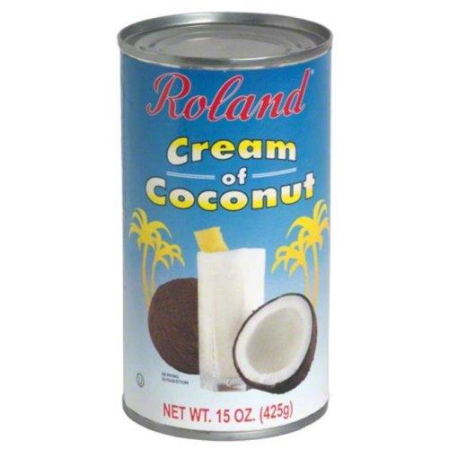 ROLAND CREAM OF COCONUT-15 OZ -Pack of 12