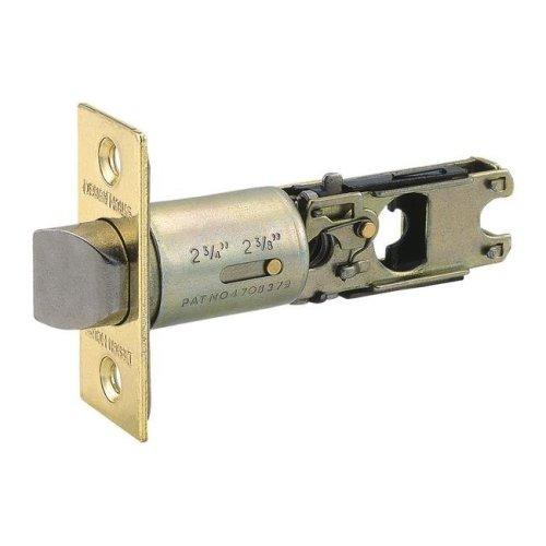 Pro 2-Way Adjustable Bed & Bath Latch, Polished Brass