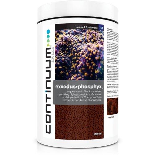 CONTINUUM EXXODUS•PHOSPHYX 1-2 years Long Term Phosphate removal in aquariums