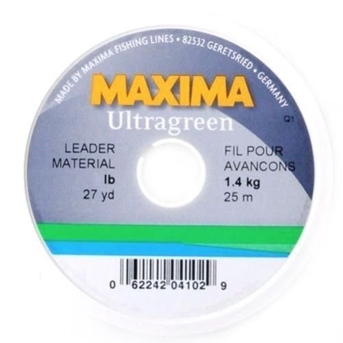 Maxima Fishing Line Leader Wheel, Ultragreen, 5-Pound/27-Yard