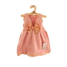 Soft Absorbent Thick Towel Princess Dress Towel With Bowknot Pink