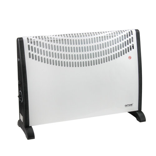 AMOS 2000W Convector Heater 3 Setting Thermostat Compact Radiator