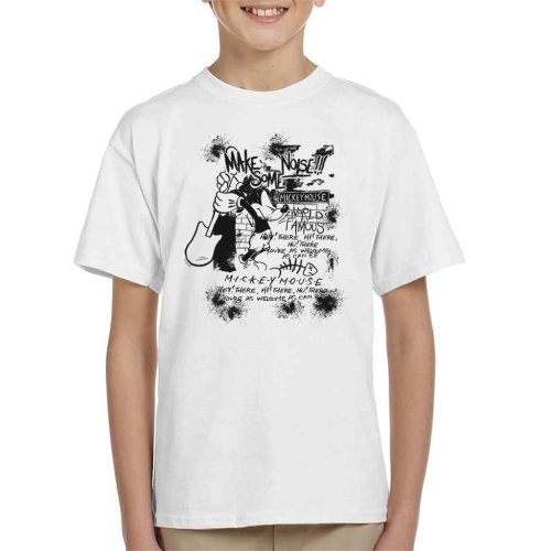 Disney Mickey Mouse Band Make Some Noise Kid's T-Shirt