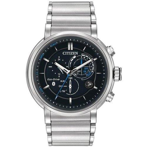 Citizen Eco-Drive Proximity Chronograph Perpetual Mens Watch BZ1000-54E