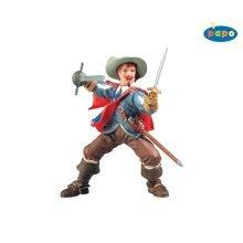 Papo Athos Figurine - 39902 Musketeers Figure -  papo athos 39902 musketeers figure figurine