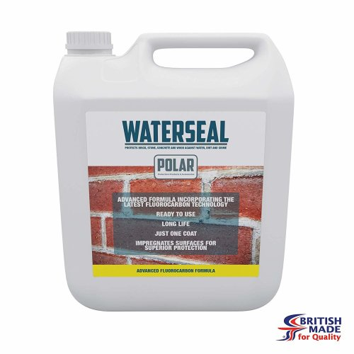 Polar One Coat Water Seal for Brick, Stone, Wood and Concrete Waterproof Sealer - 5 Litres