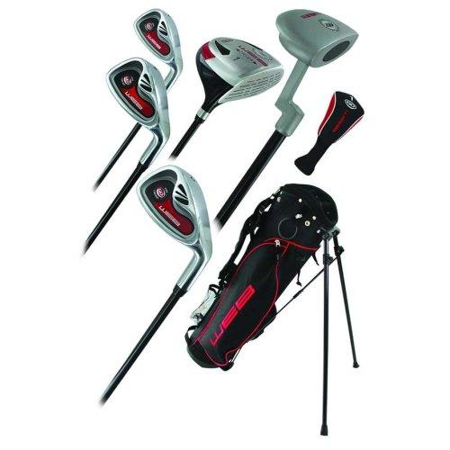 Go Junior Childrens 7 Piece Golf Starter Kids Package Set Age 9-12 Left Hand