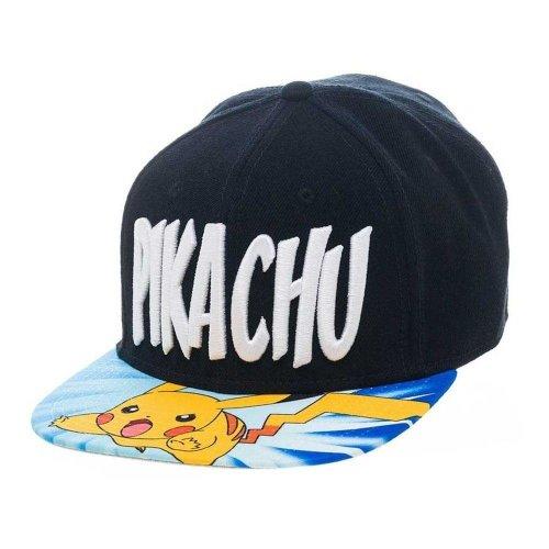 Pokemon Unisex Lightning Pikachu Snapback Baseball Cap One Size - Multi-Colour