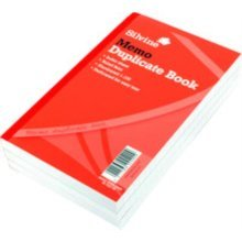 Silvine Duplicate Memo Book Feint 200 Sheets Large - Pack Of 6 - 601 210x127mm -  silvine duplicate memo book 601 pack 210x127mm ruled 825x5 inches