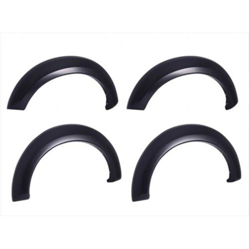 EGR 751674 Rugged Look Fender Flare Set of 4 No-Drill - Front And Rear