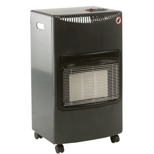 Lifestyle Seasons Warmth Grey 4.2kw Radiant Portable Gas Heater