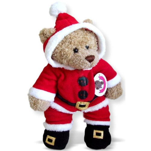 Teddy Bears Clothes fits Build a Bear Christmas Santa