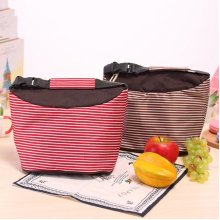 1500ML Lunch Tote Bag Oxford Waterproof Cooler Insulated Handbag Zipper Storage Containers