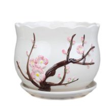 Home/Office Cute Chinese Small Vase Succulent Pots Plant vase, No.11