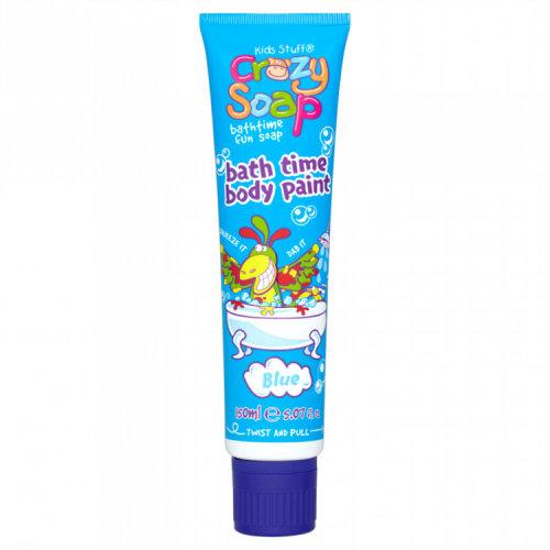Kids Stuff Crazy Soap Blue Bath Time Body Paint 150ml