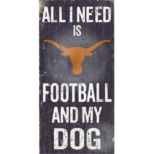 Fan Creations C0640 University Of Texas Football And My Dog Sign