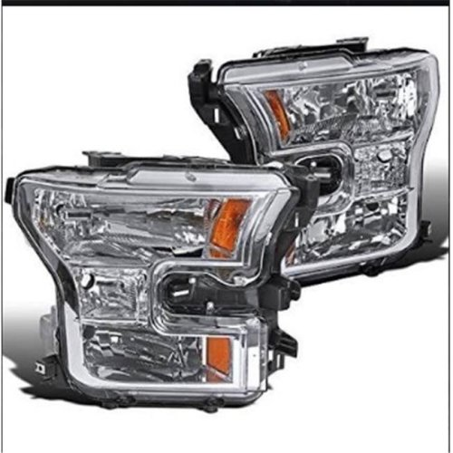 2015 Ford F150 Headlights - Chrome