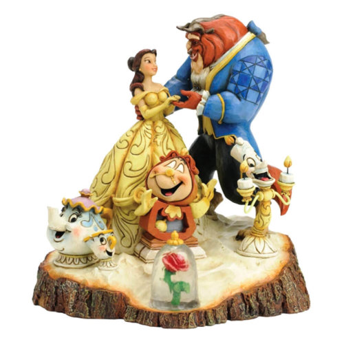 Official Beauty and The Beast 'Tale As Old As Time' Figurine