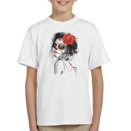 Dia De Los Muertos Day Of The Dead Kid's T-Shirt