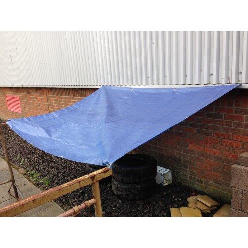 Yuzet Blue Waterproof Tarpaulin Ground Sheet